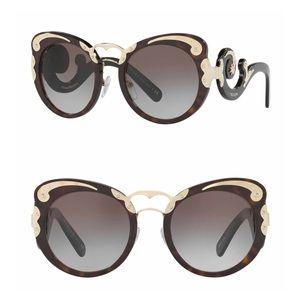 NEW // Prada Minimal Baroque Sunglasses